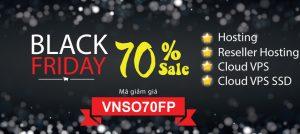 Black Friday – Khuyến mãi cực khủng lên đến 70%