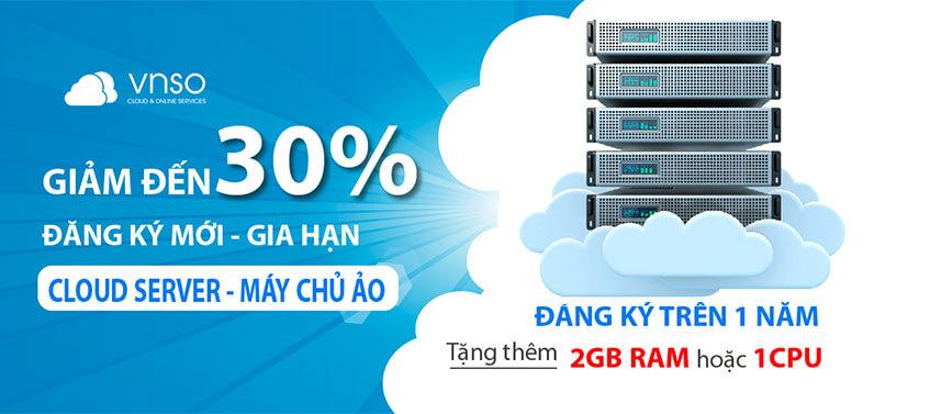 Chương trình ưu đãi Cloud VPS mừng Giải phóng miền Nam 30/04 và 1/5
