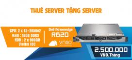 Thuê Server Tặng Server – Dell R620 – 2Tr5/Tháng