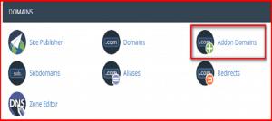 Hướng dẫn cách thêm một tên miền (Addon Domain) trên cPanel