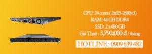 Thuê Máy chủ giá rẻ Dell Server R630 – Hotline 0909 639 482