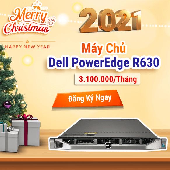 Chào Đón Năm Mới Với Dell R630 – VNSO Tri Ân Khách Hàng.