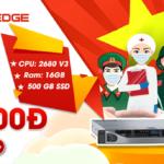 Chương trình Dell R630 – Đồng giá 999.000đ.